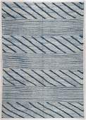 Modern Striped Kilim: 6'1'' x 8'8'' (185 x 264 cm)