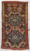 Antique Kuba Rug: 3'3'' x 5'7'' (99 x 170 cm)