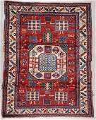 Vintage Kazak Rug 52 x 66 157 x 198 cm