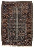 Antique Beluch Rug: 2'10'' x 4' (86 x 122 cm)