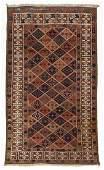 Antique Beluch Rug: 2'11'' x 4'11'' (89 x 150 cm)