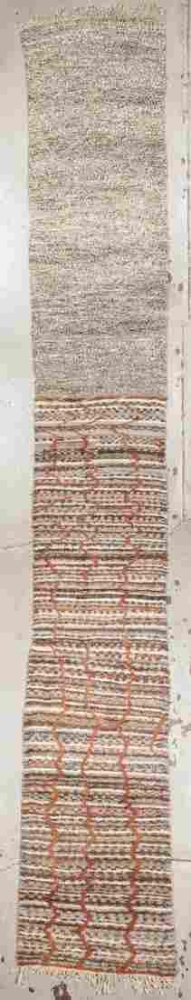 Moroccan Rug: 3'4'' x 21' (102 x 640 cm)