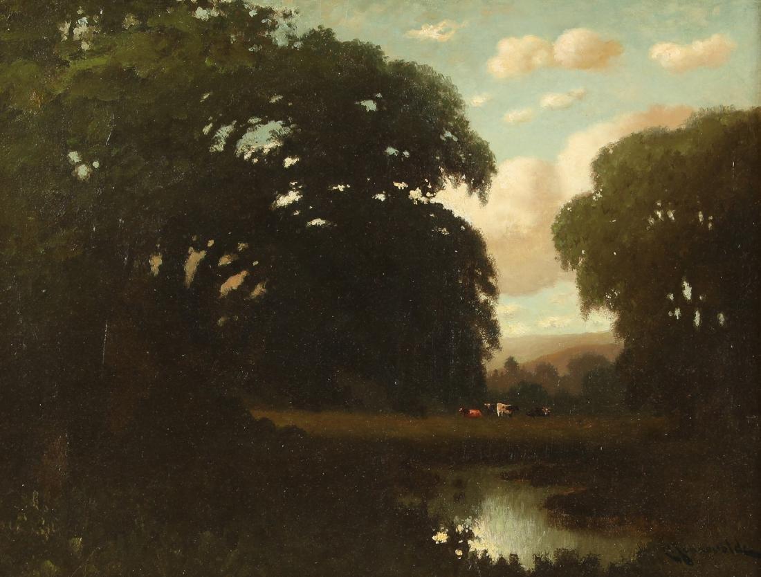 Carl Henrik Jonnevold (1856-1930) Landscape Painting - 2