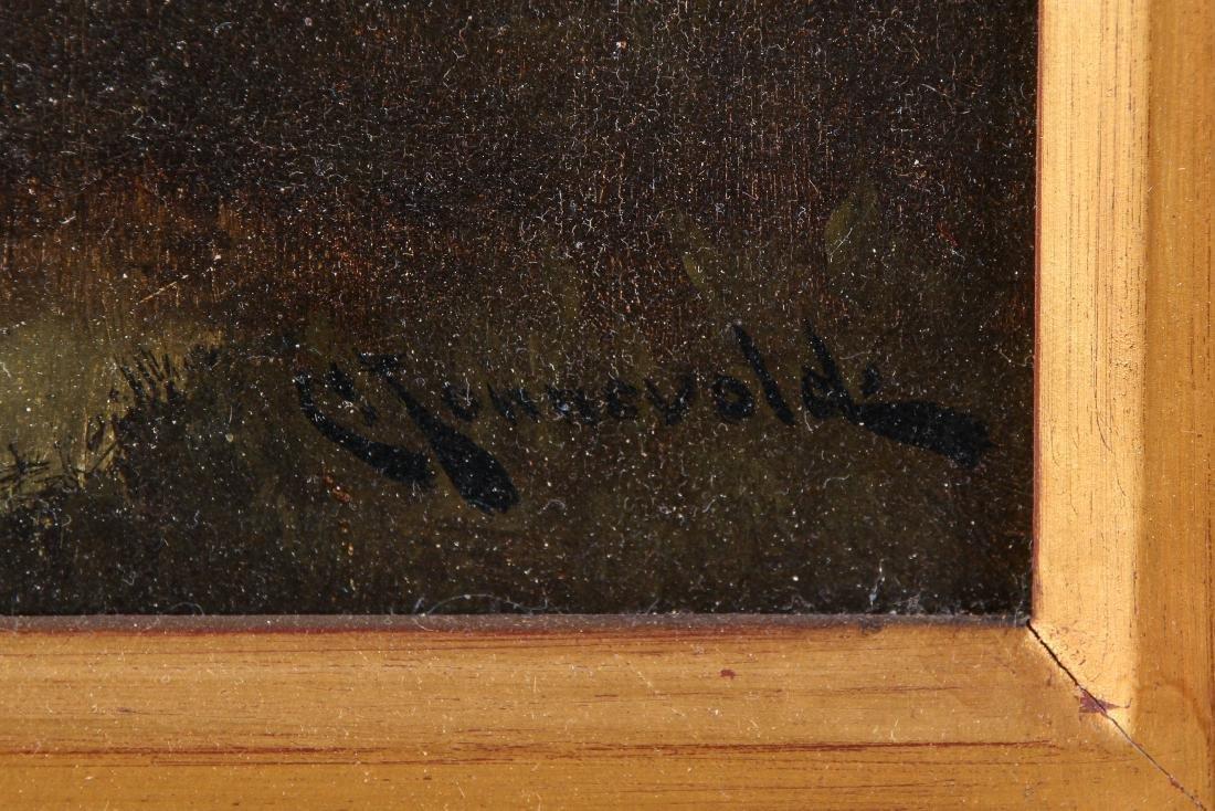 Carl Henrik Jonnevold (1856-1930) Landscape Painting - 3