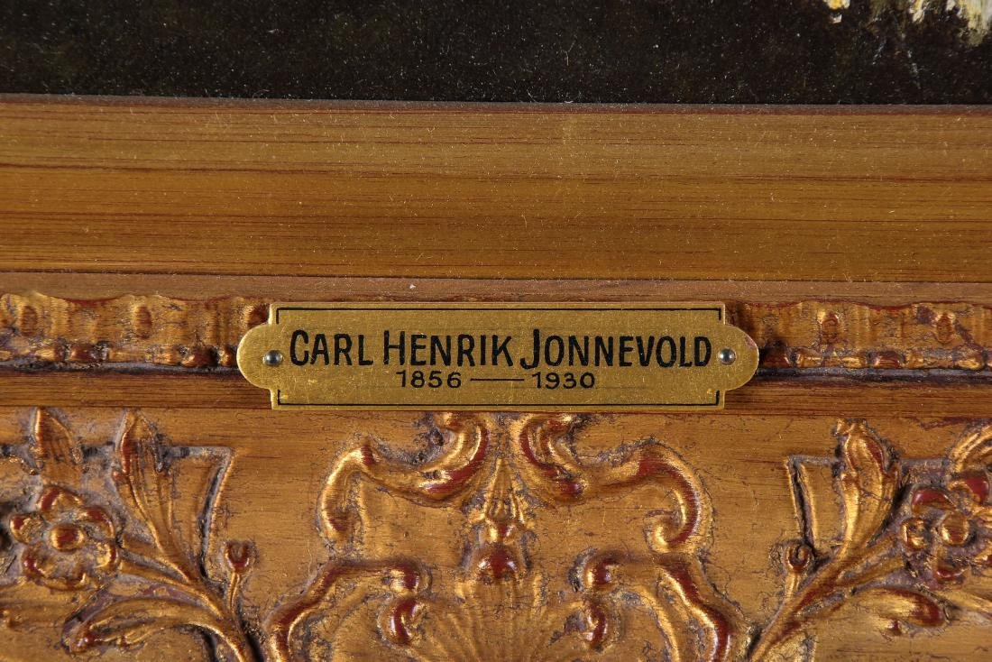 Carl Henrik Jonnevold (1856-1930) Landscape Painting - 4