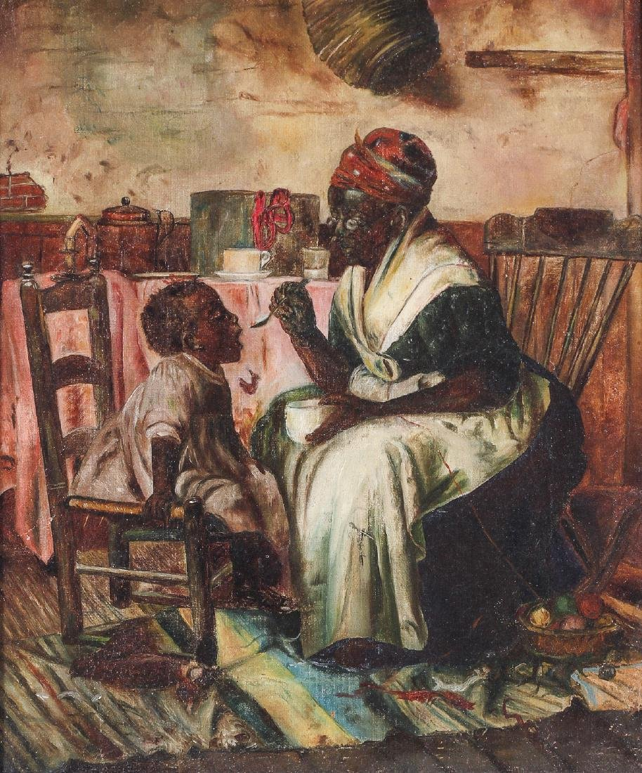 """Manner of Harry Roseland (1866-1950) """"One more spoon"""""""