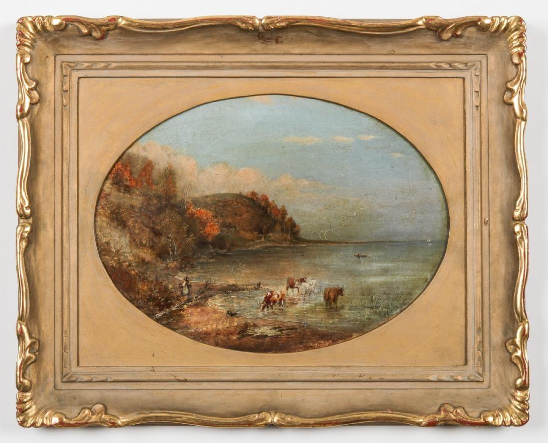 Cornelius David Krieghoff (1815-1872) Landscape with
