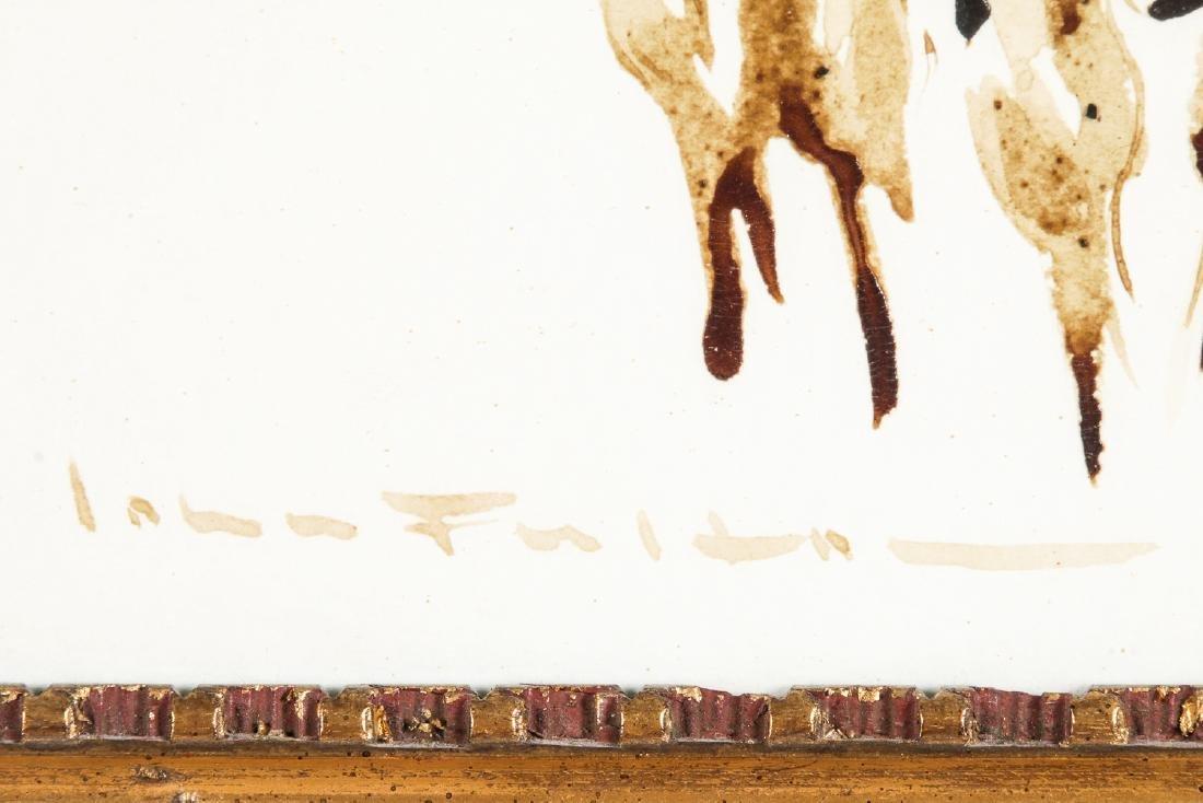 John Fulton Short (1932-1998) Bull's Blood Painting - 2