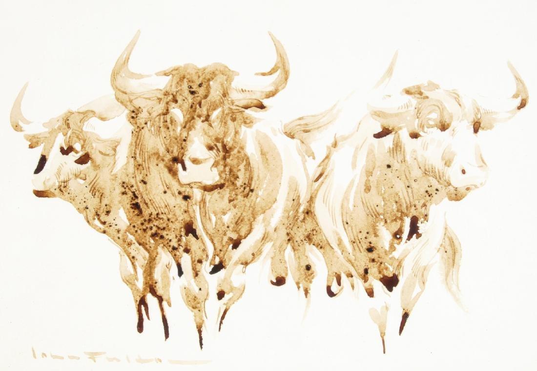 John Fulton Short (1932-1998) Bull's Blood Painting - 3