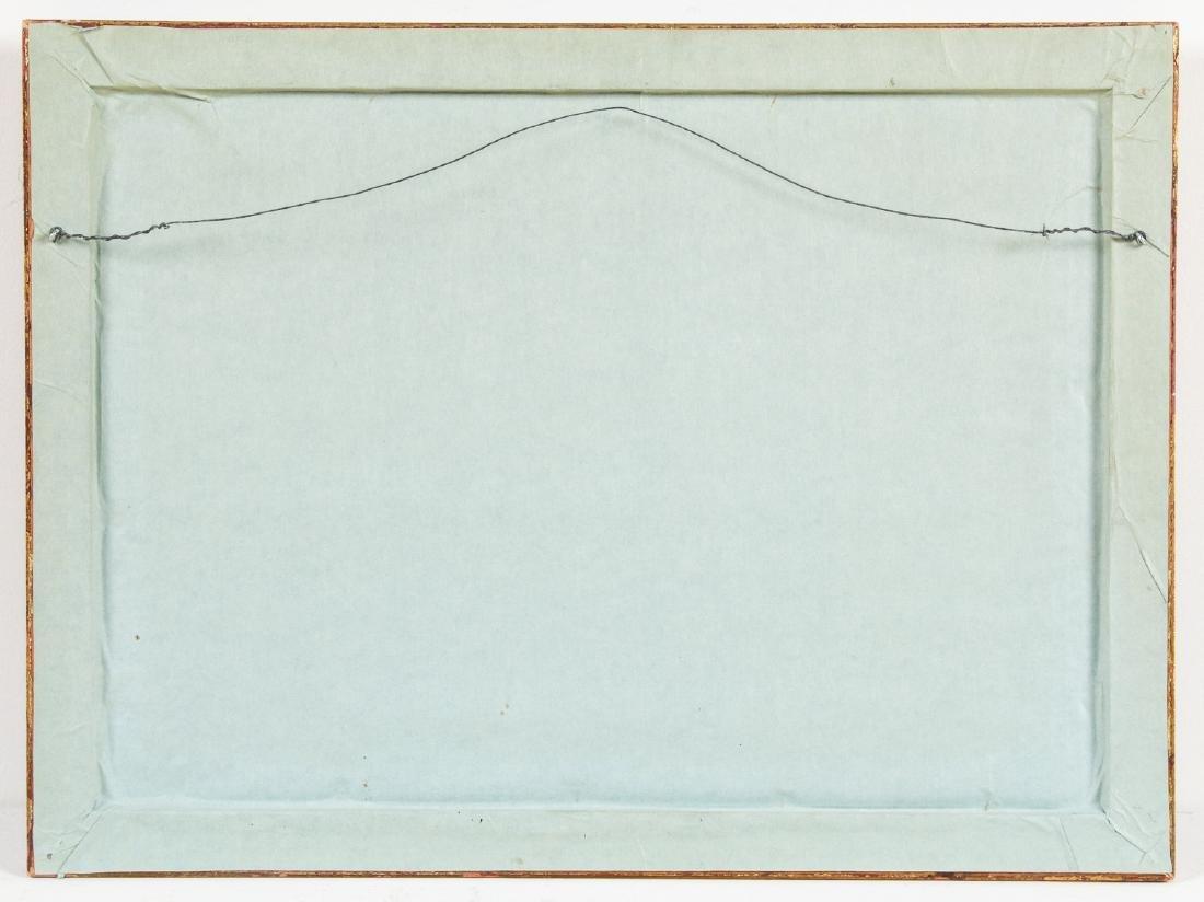 John Fulton Short (1932-1998) Bull's Blood Painting - 4