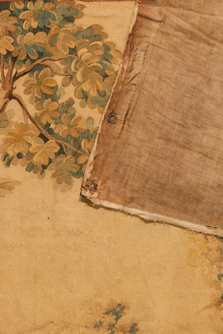 Antique Continental Wool Pictorial Tapestry - 3