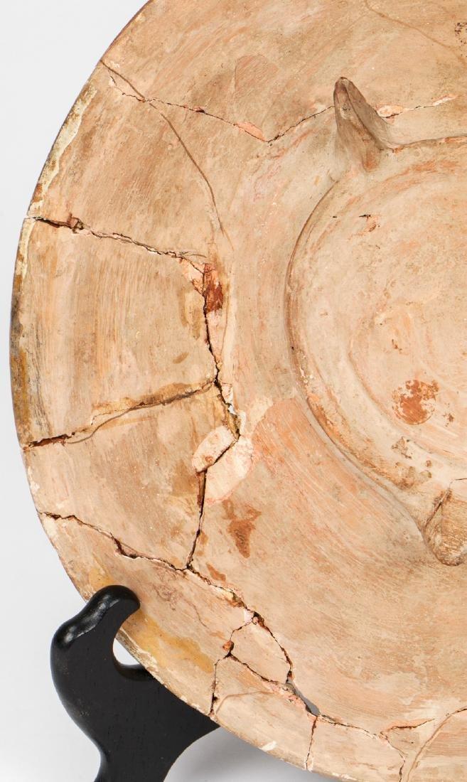 Large Nishapur Figural Bowl, Persia, 10th/12th C. - 3