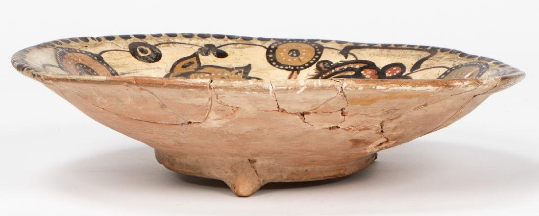 Large Nishapur Figural Bowl, Persia, 10th/12th C. - 4