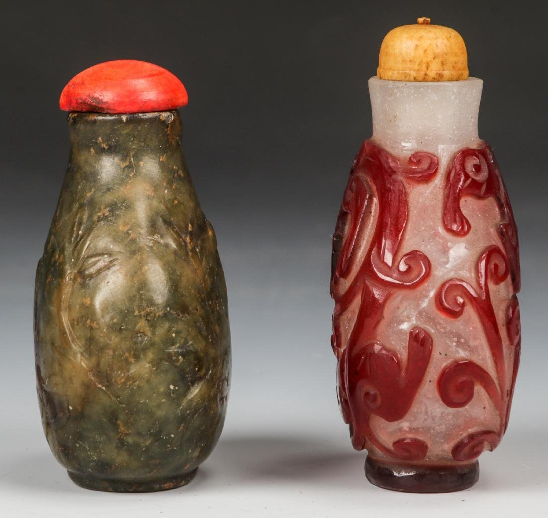 Pair of Chinese Snuff Bottles - 2