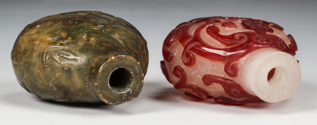 Pair of Chinese Snuff Bottles - 6