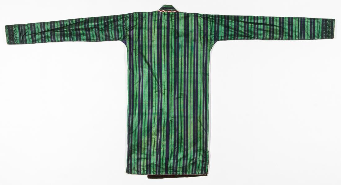 2 Antique Central Asian Silk Ikat Coat/Chapans - 10