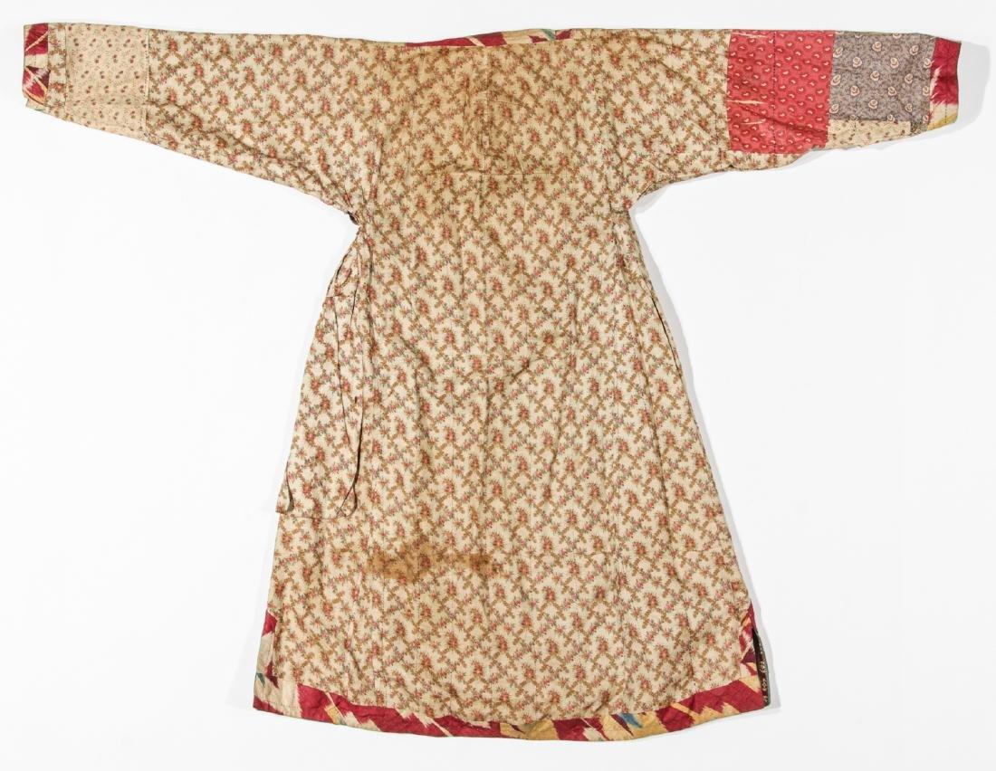 2 Antique Central Asian Silk Ikat Coat/Chapans - 6