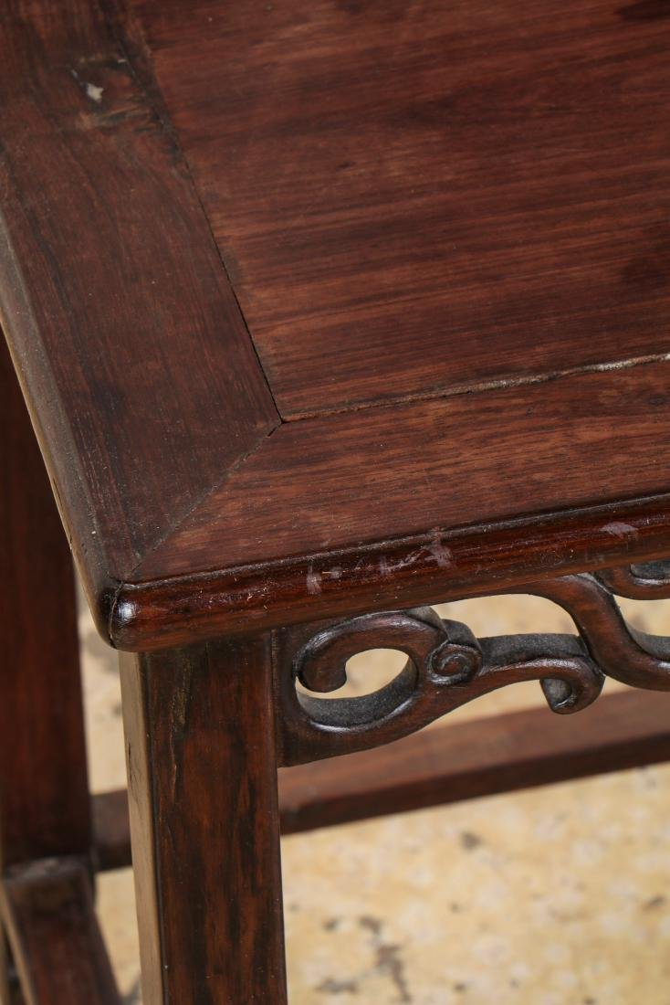 Antique Chinese Hardwood Chair - 2