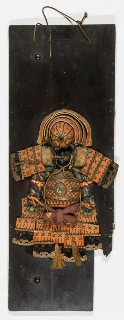 Mounted Japanese Samurai Regalia