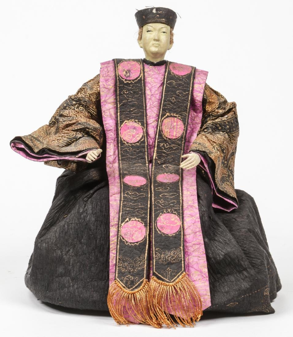 Group of 3 Japanese Dolls - 5