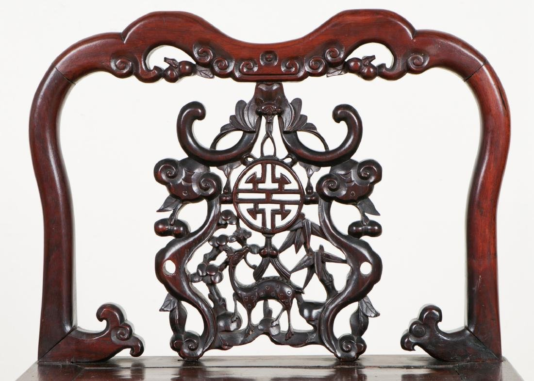 Chinese Wooden Chair - 2