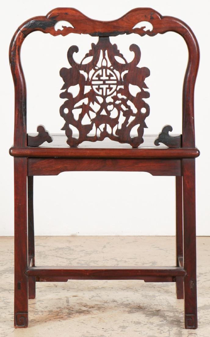 Chinese Wooden Chair - 5