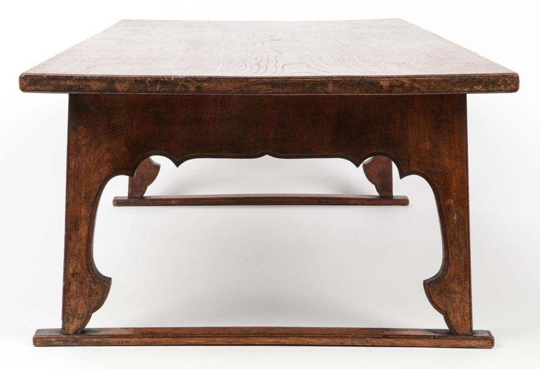 Small Japanese Wood Writing Desk - 3
