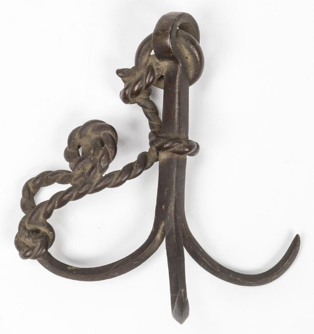 2 Japanese Bronze Anchor Forms - 6