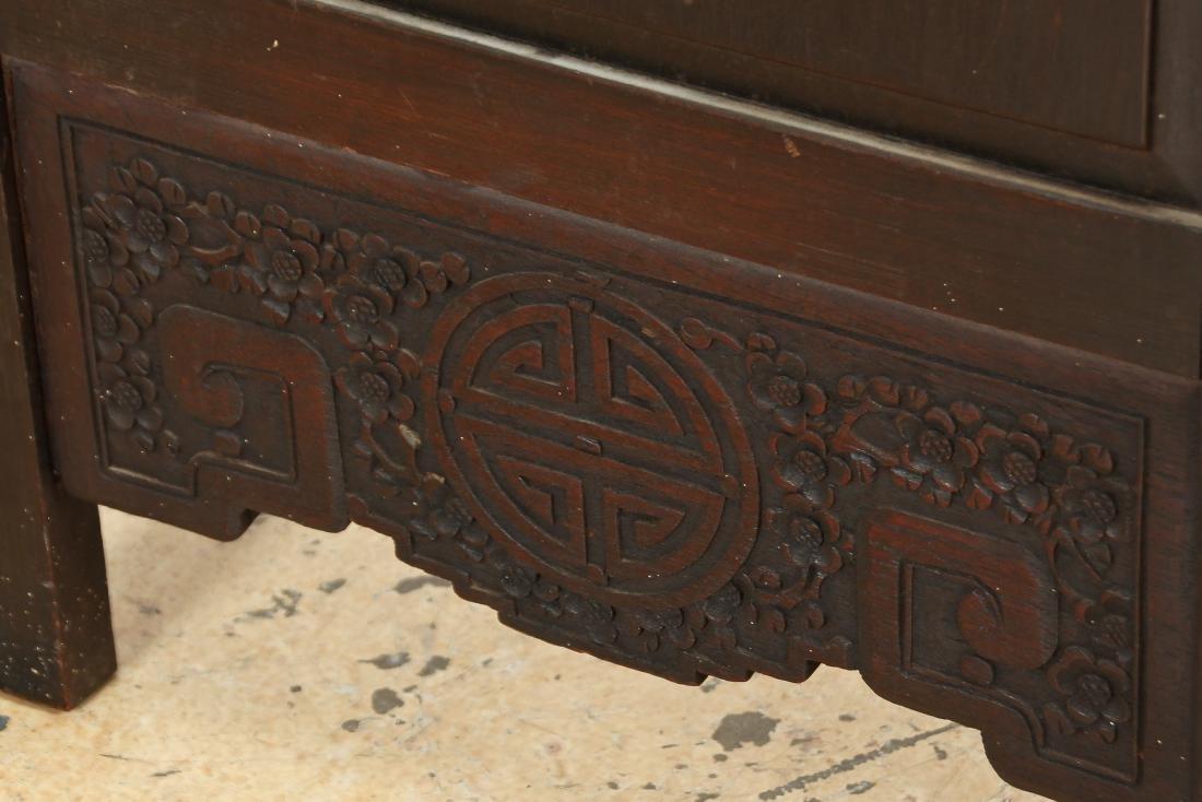 Chinese Stone Inlaid Coromandel Screen - 3