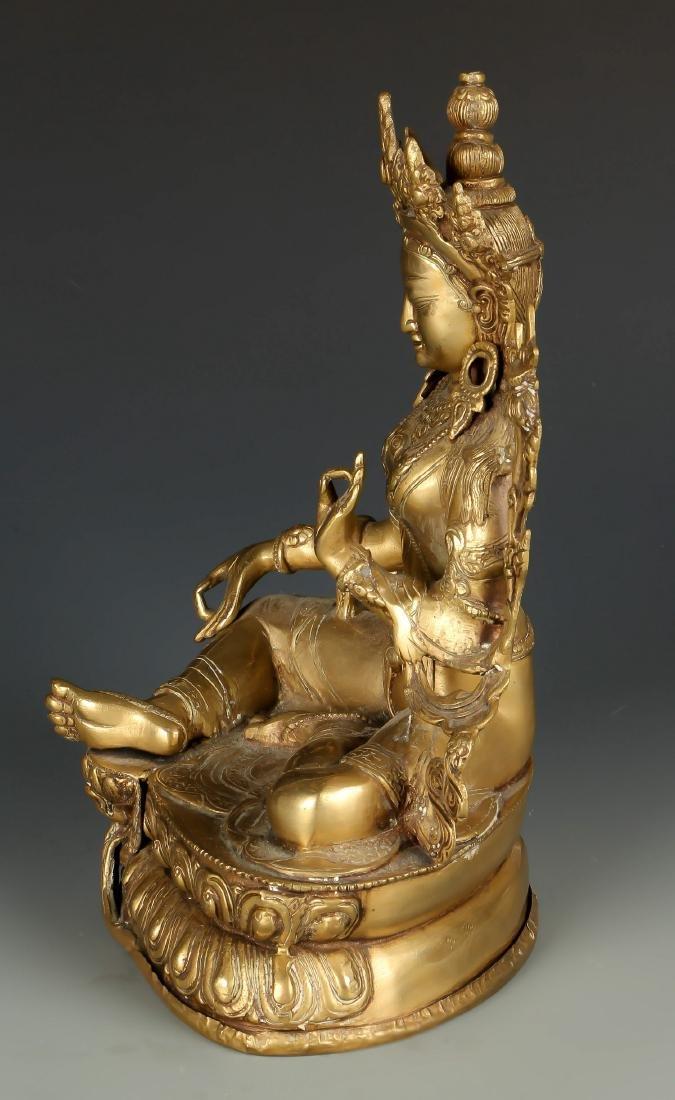 Gilt Bronze Buddha - 2