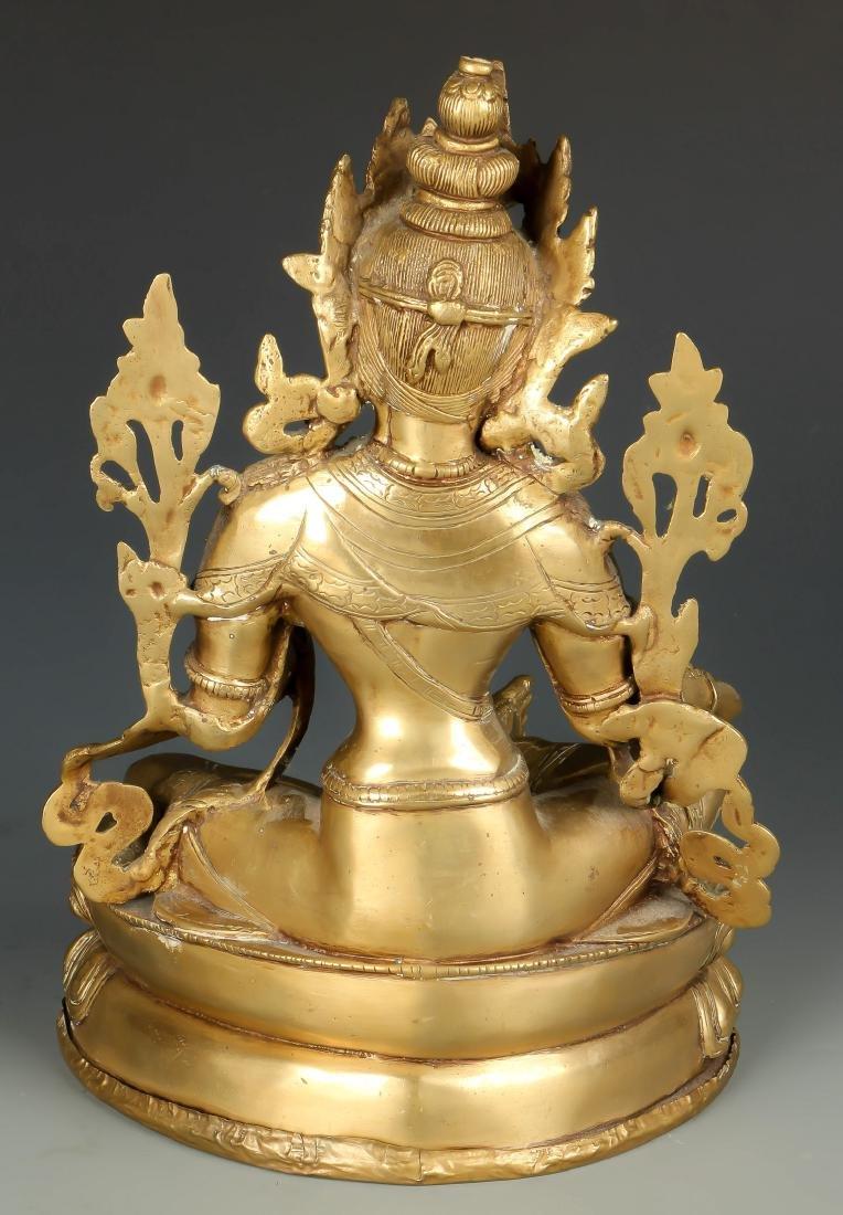 Gilt Bronze Buddha - 3