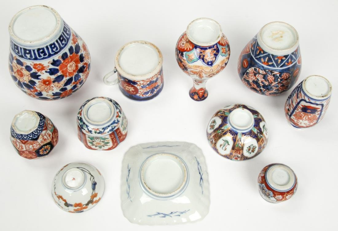 Estate Collection of Imari Porcelain (14 Items) - 4