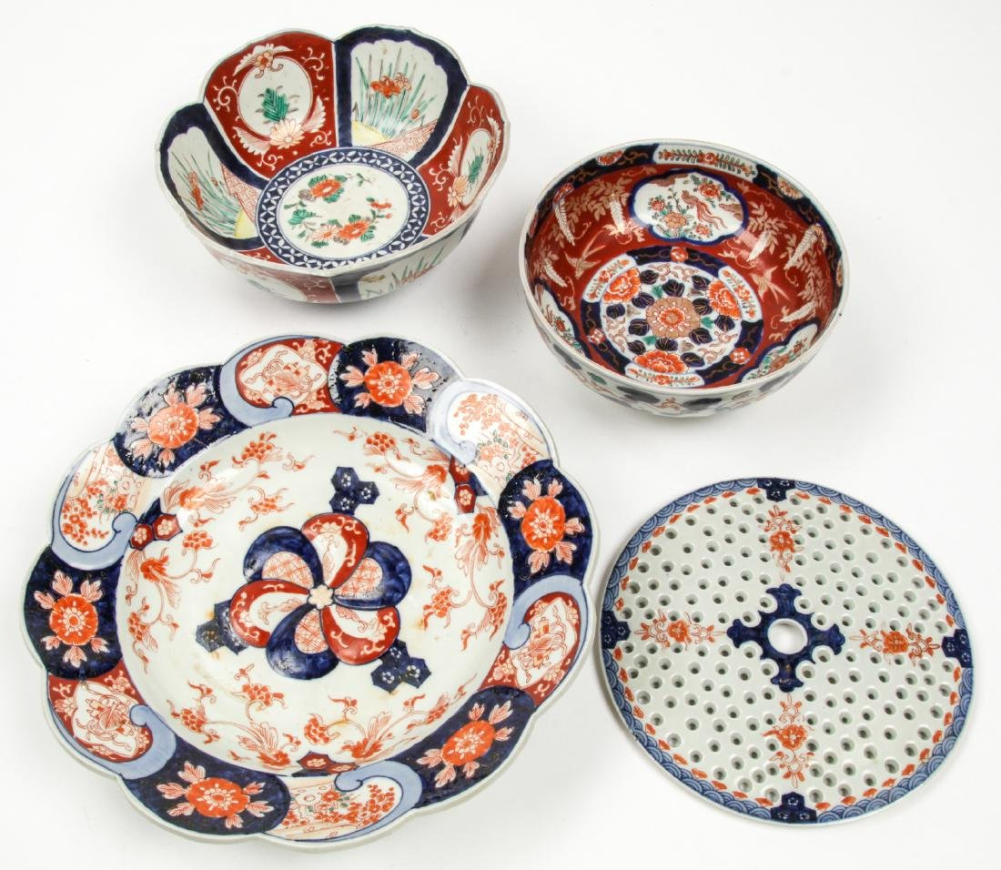 Estate Collection of Imari Porcelain (14 Items) - 8