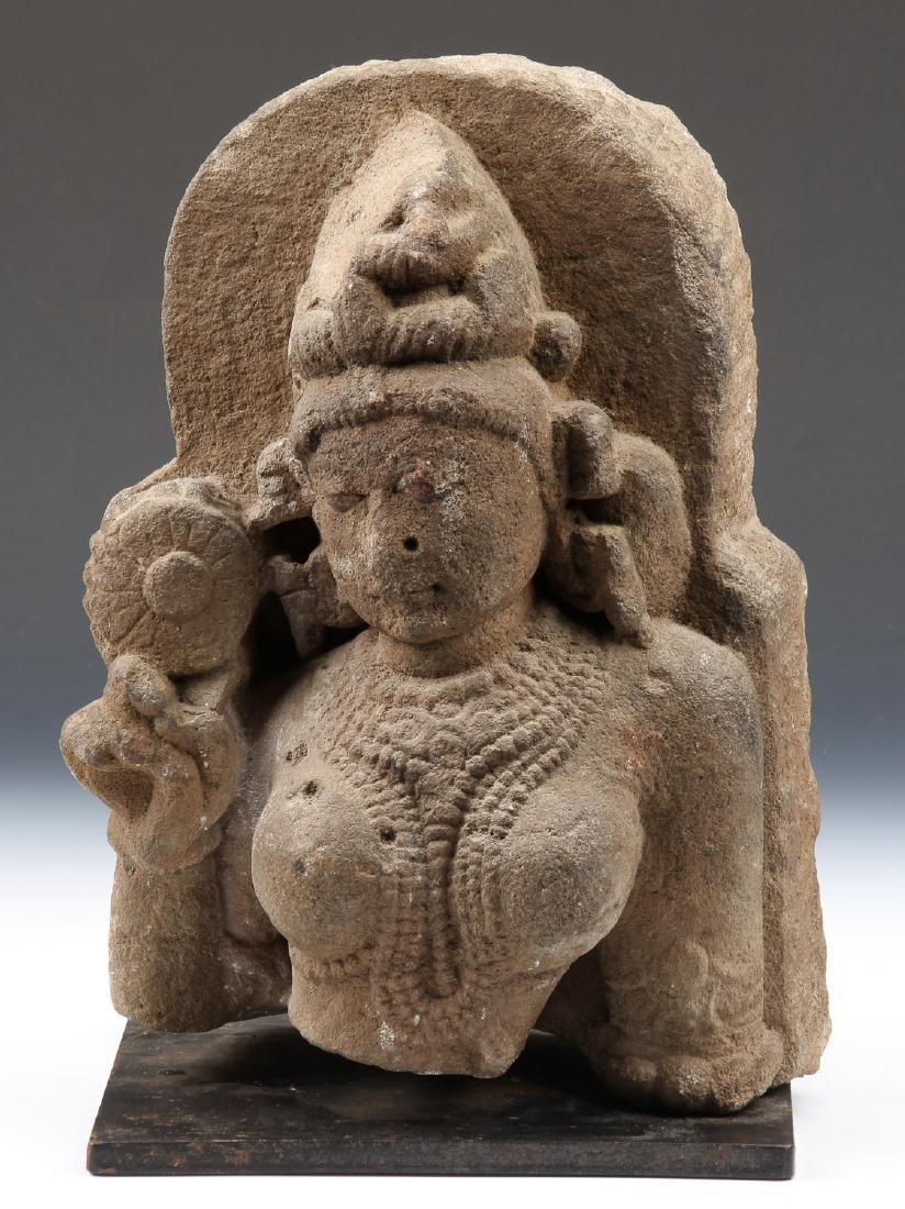 Sandstone Carving of Parvati, India, 10th-12th C.