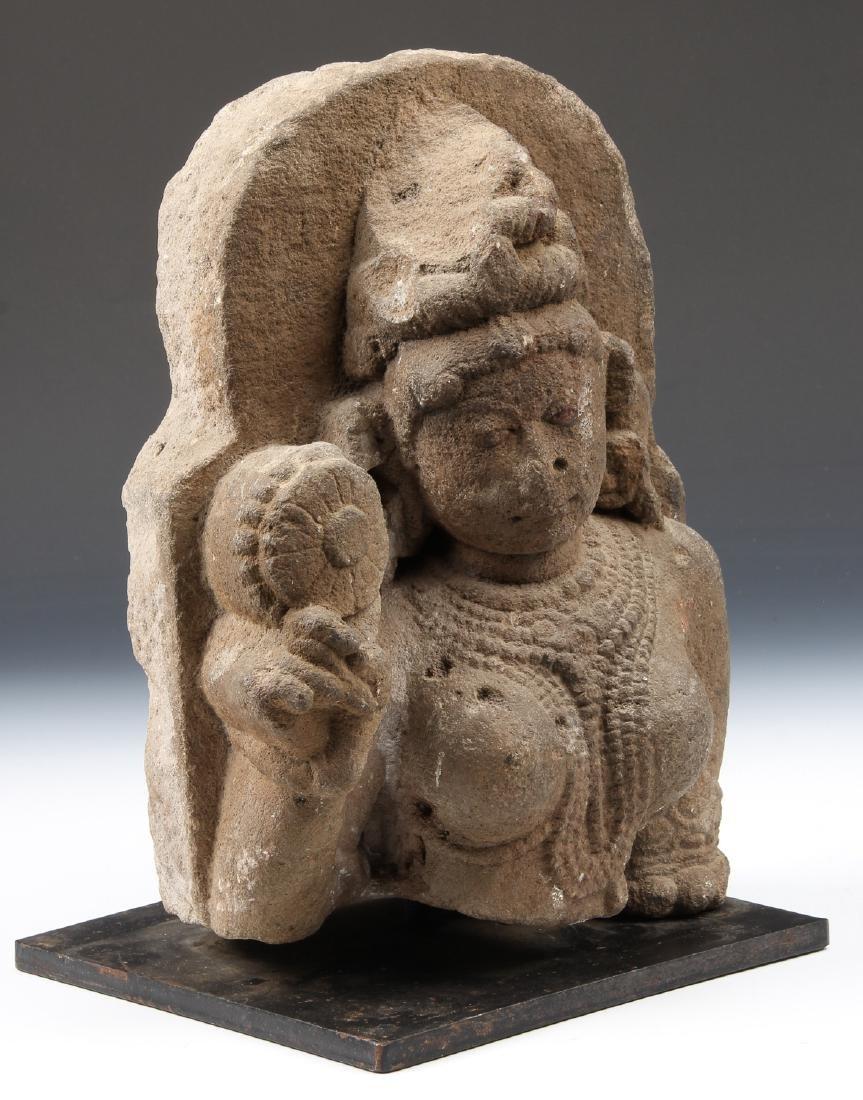 Sandstone Carving of Parvati, India, 10th-12th C. - 2