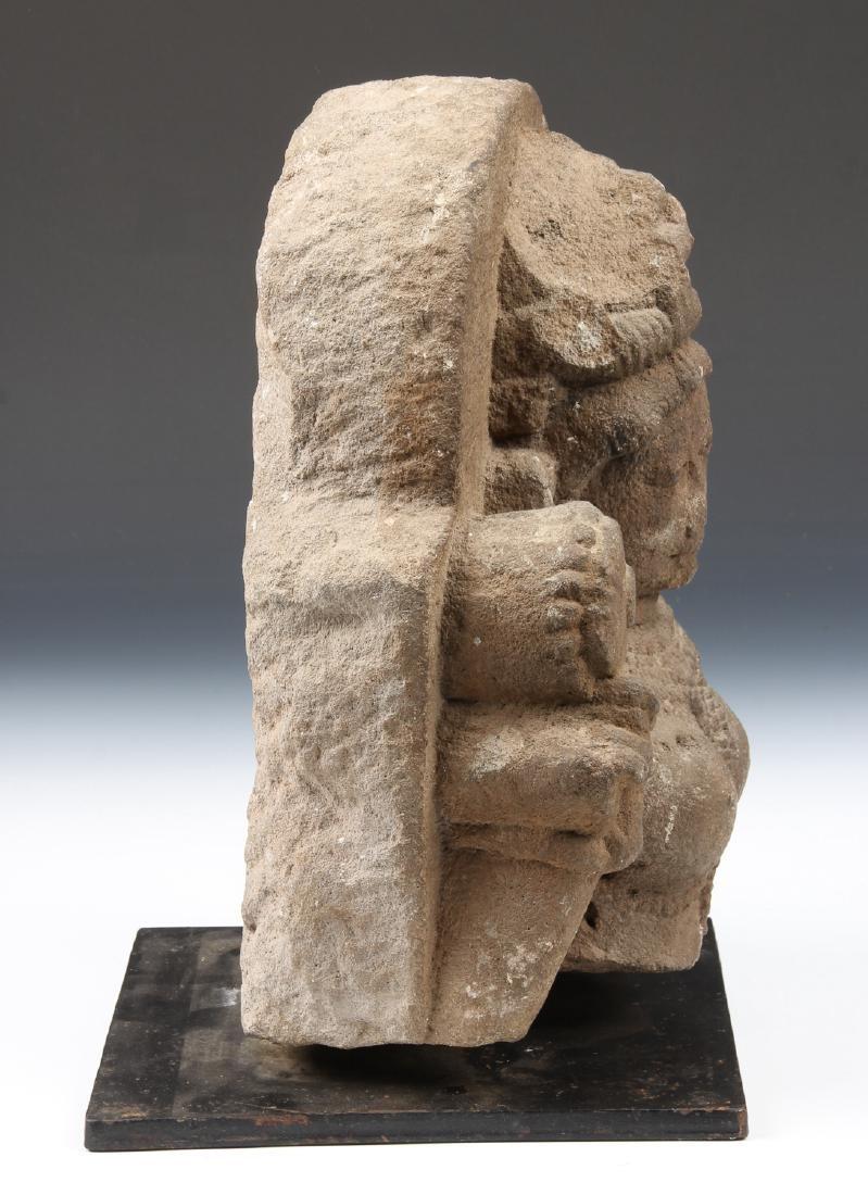 Sandstone Carving of Parvati, India, 10th-12th C. - 3