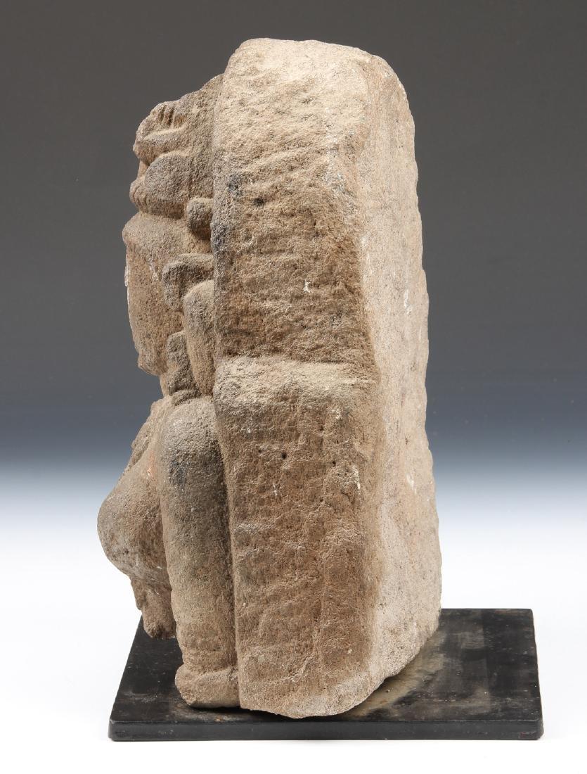Sandstone Carving of Parvati, India, 10th-12th C. - 4