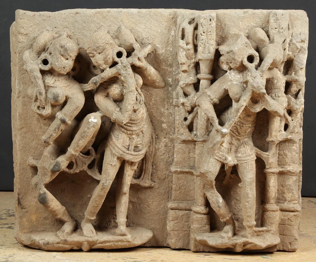 Massive Sandstone Frieze, India, 10th - 12th C.