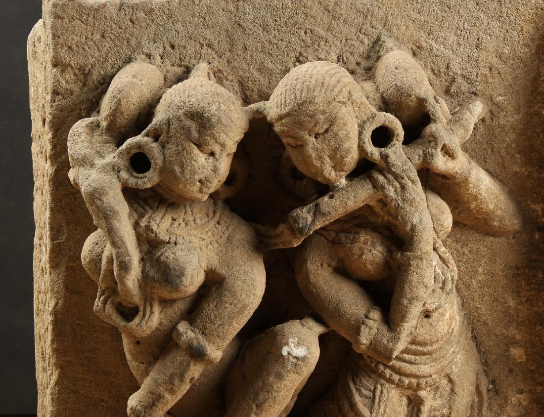 Massive Sandstone Frieze, India, 10th - 12th C. - 2