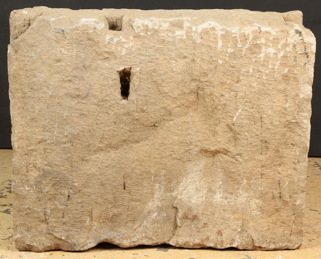 Massive Sandstone Frieze, India, 10th - 12th C. - 5