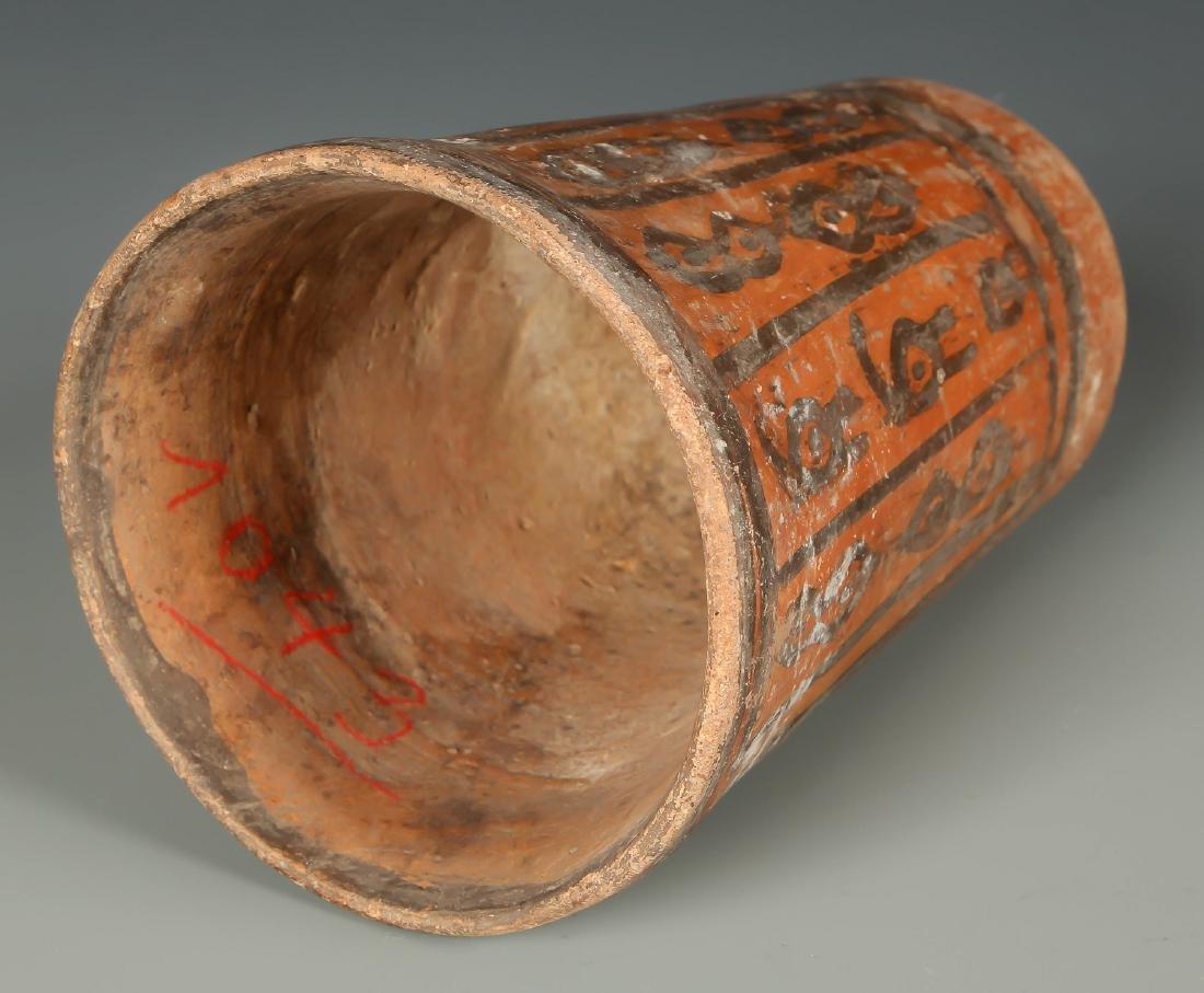 Tiwanaku Cup w Avian Head Images, 300-1150 CE, Bolivia - 3