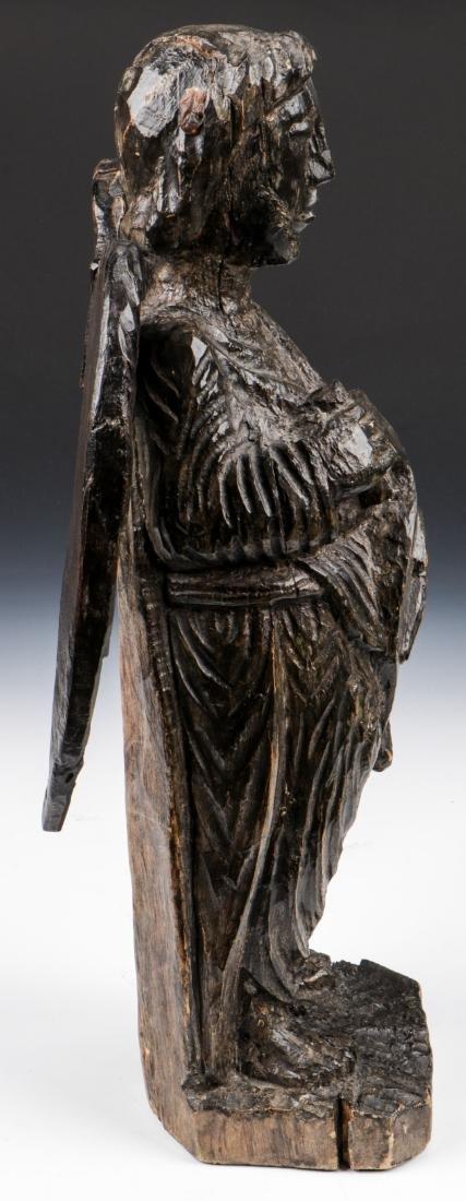 Pair of Carved Wood Angels, Umbria, Ca. 1550 - 3