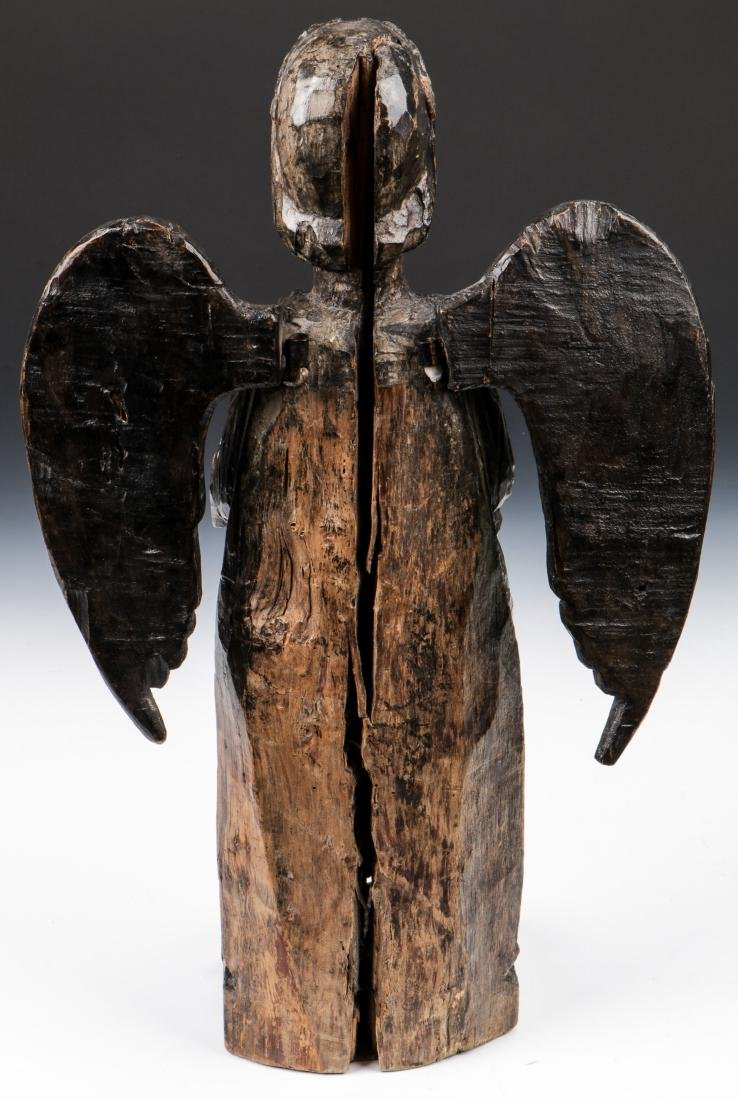 Pair of Carved Wood Angels, Umbria, Ca. 1550 - 4