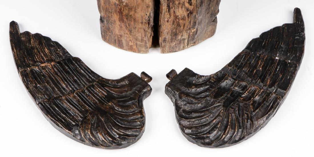 Pair of Carved Wood Angels, Umbria, Ca. 1550 - 5