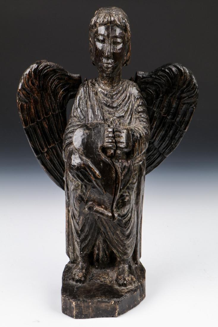 Pair of Carved Wood Angels, Umbria, Ca. 1550 - 6