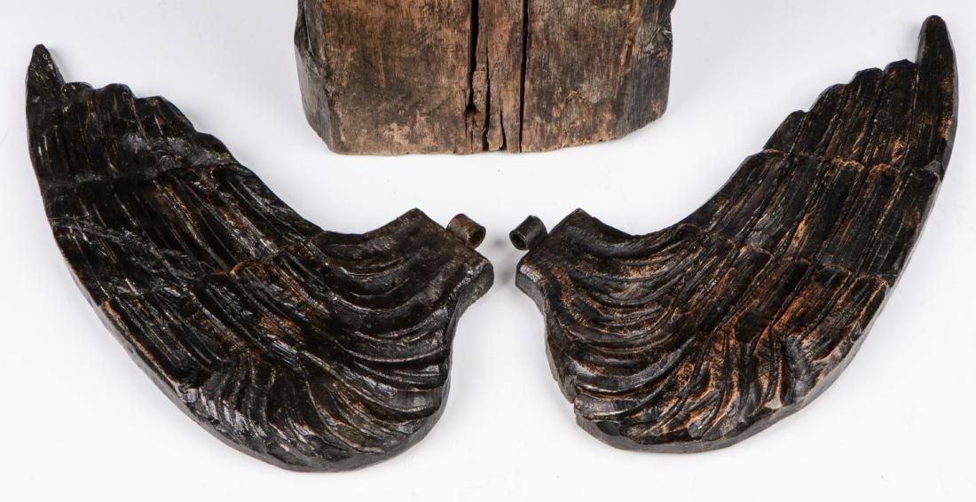 Pair of Carved Wood Angels, Umbria, Ca. 1550 - 9