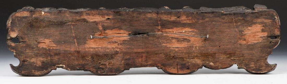 16th/17th C. Italian Carved Oak Figural Panel - 2