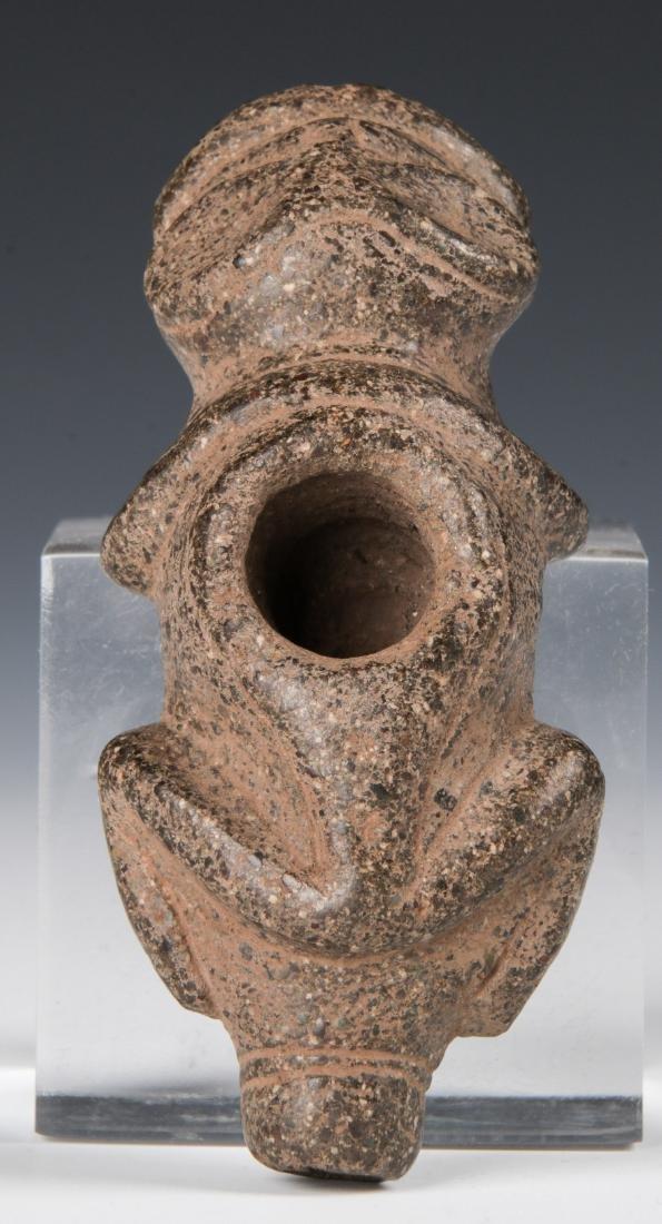Taino Zoomorphic Cohoba Vessel (1000-1500 CE)