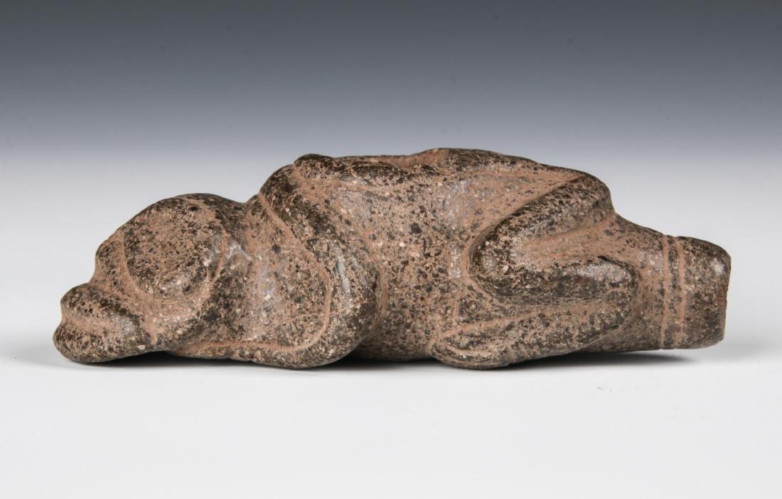 Taino Zoomorphic Cohoba Vessel (1000-1500 CE) - 3