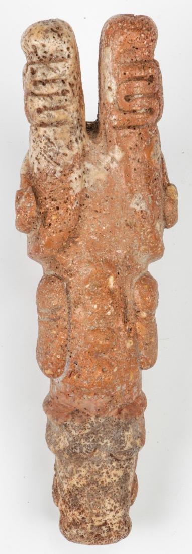Taino Full Figure Frog-Man Cohoba Inhaler (1000-1500 - 3